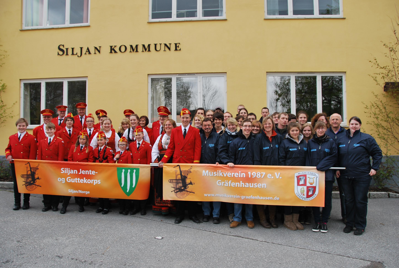 Gruppenbild Norwegen
