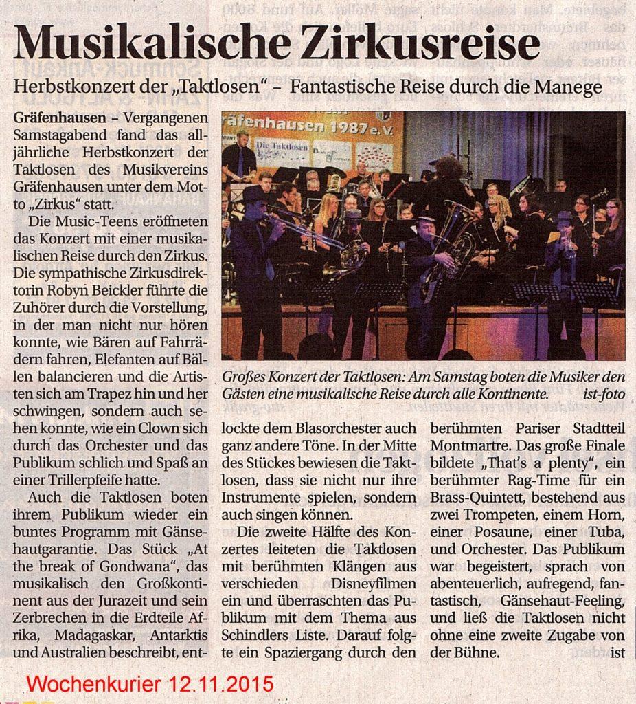 20151112-Wochenkurier-MusikalischeZirkusreise