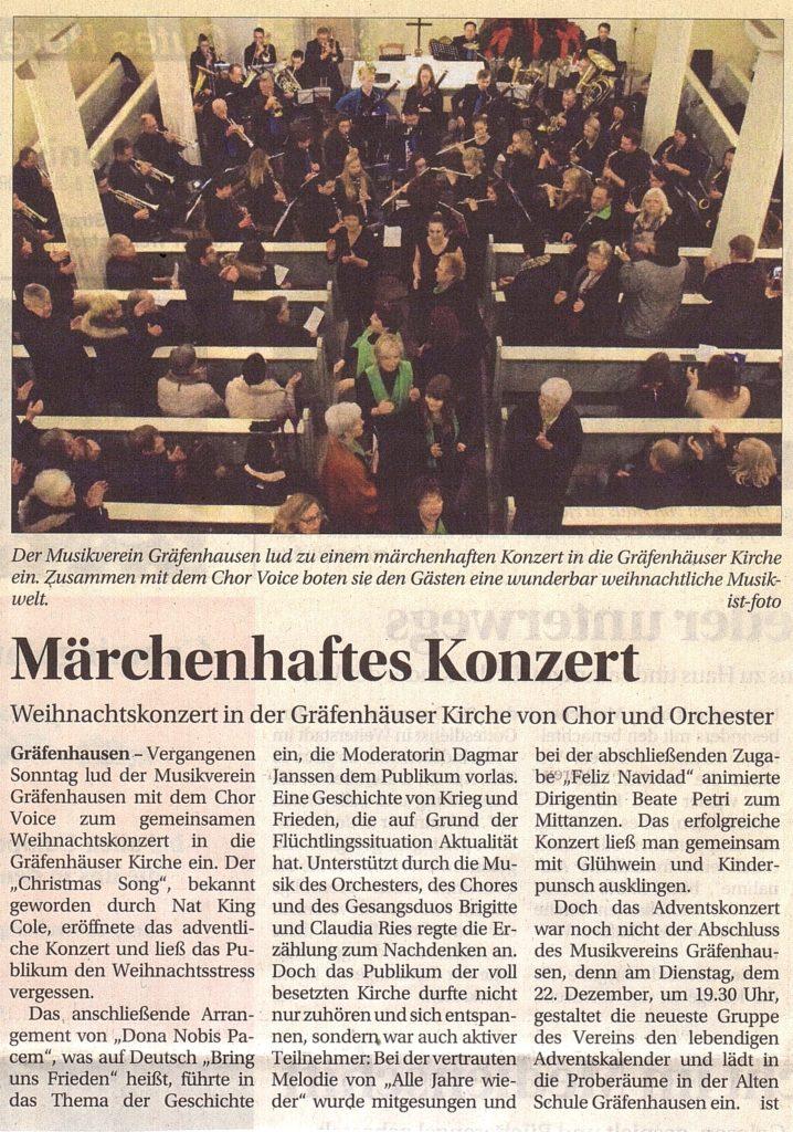 20151218-Wochenkurier-MärchenhaftesKonzert