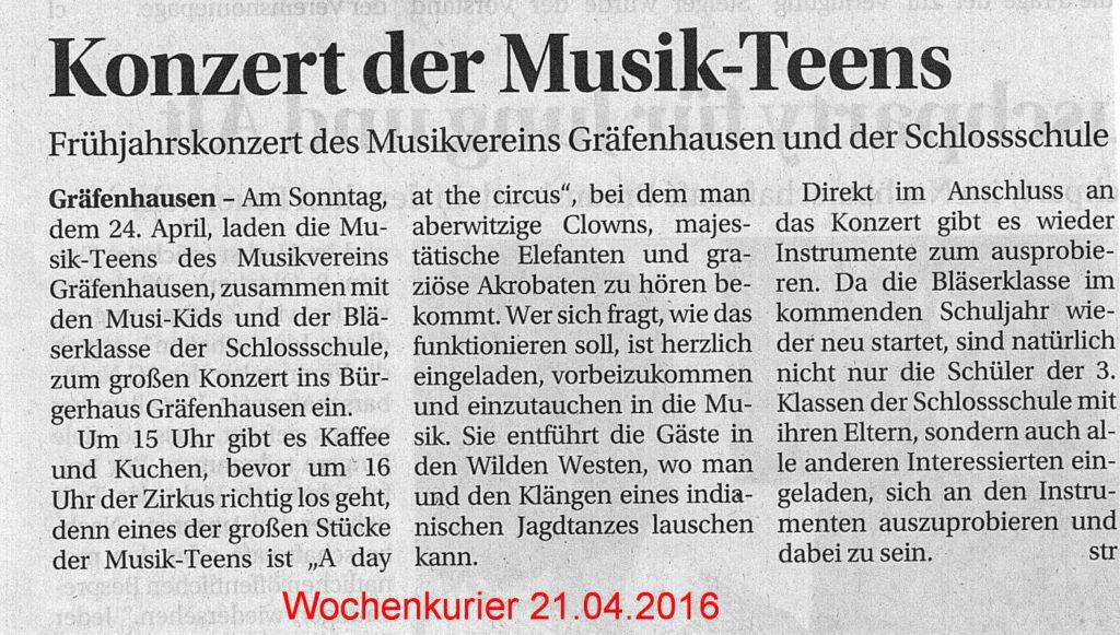 20160421-Wochenkurier-KonzertDerMusicTeens
