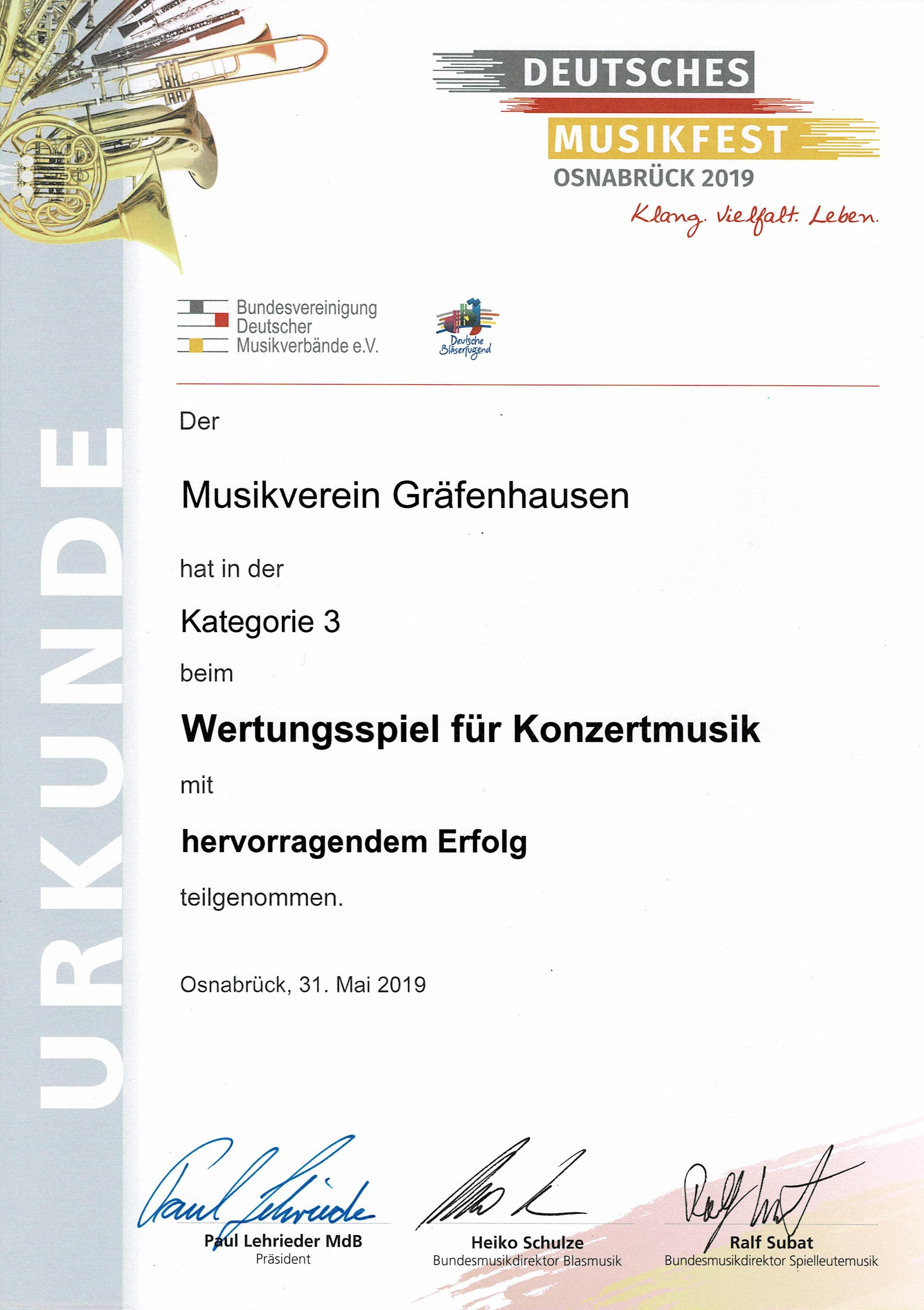 Deutsches Musikfest 2019